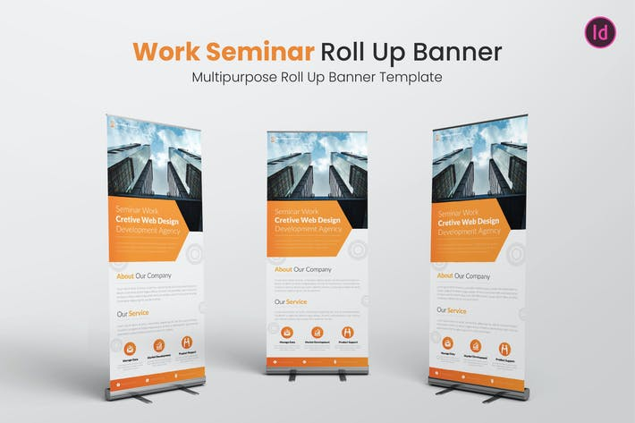 Thumbnail for Work Seminar Roll Up Banner