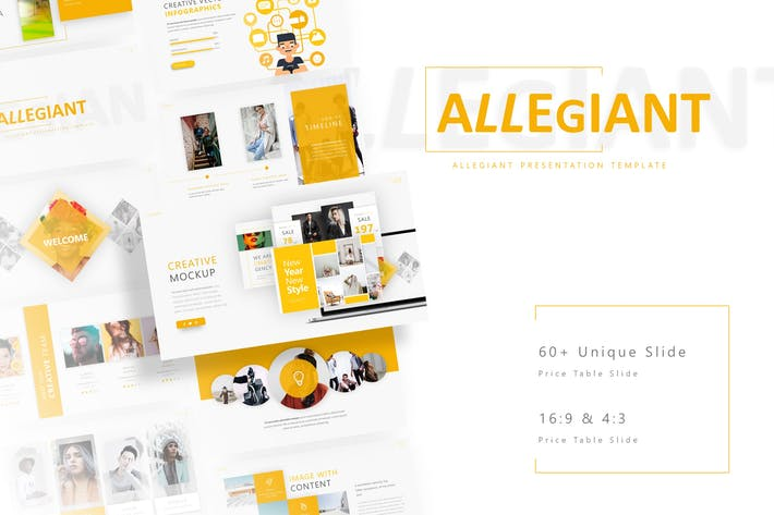 Thumbnail for Allegiant - Fashion Presentation Template