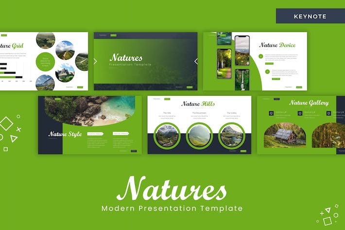 Thumbnail for Natures - Keynote Template
