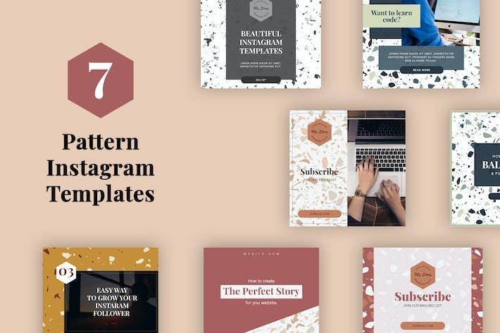 Pattern Instagram Templates