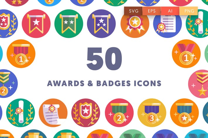 Thumbnail for Awards & Badges Icons