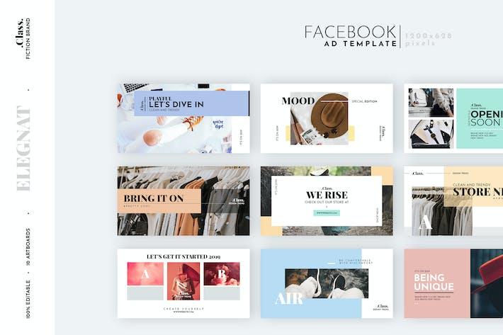 Pastel Fashion Facebook Ad Template By Eightonesixstudios On Envato