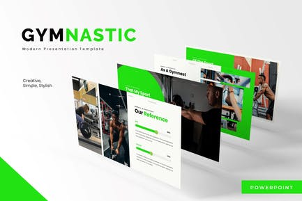 Gymnastic - Powerpoint Template