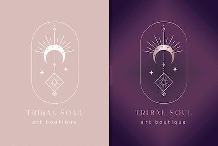 Premade Tribal Soul Designs for Blog. Feminine.