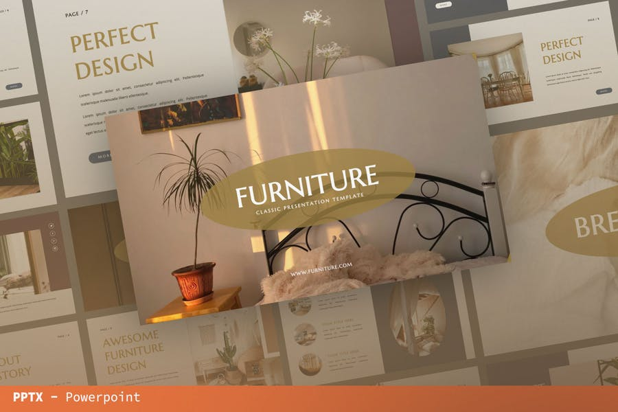 Мебельная бизнес-презентация