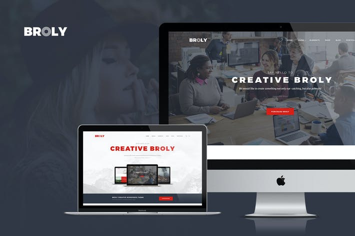 Cover Image For Broly - Creative Multipurpose Template