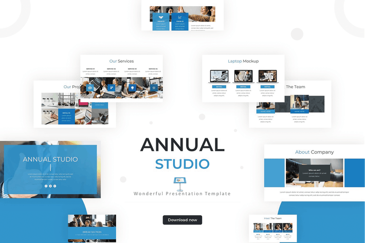 Thumbnail for Annual Studio - Keynote Template