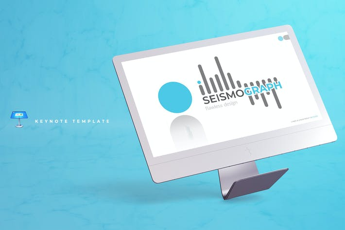 Thumbnail for Seismograph - Keynote Template