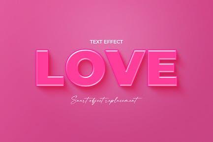Эффект текста любви