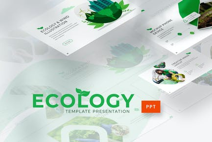 Ecology - Environment Powerpoint Template