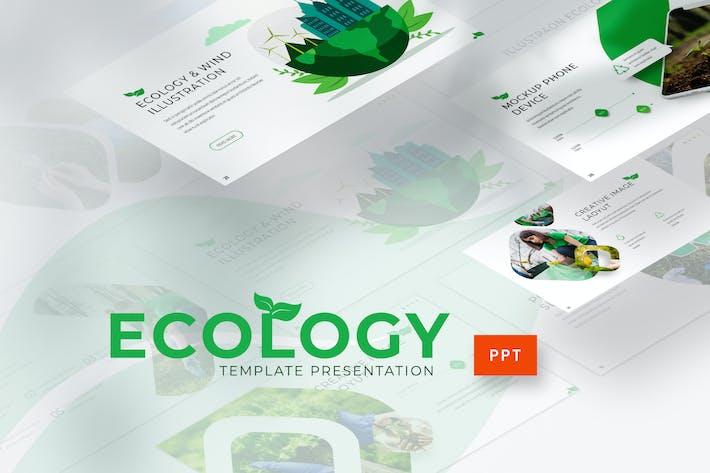 Thumbnail for Экология - Шаблон Powerpoint среды
