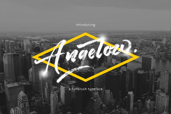 Thumbnail for Angelow Typeface