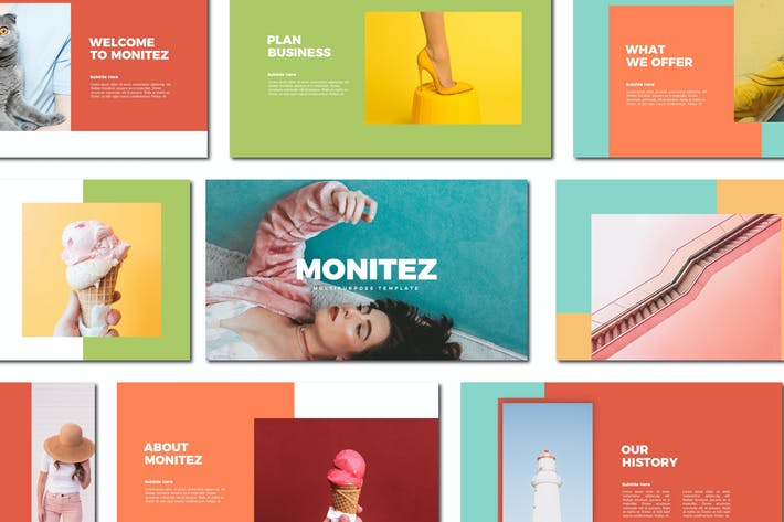Cover Image For Monitez - Powerpoint Templates