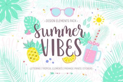 Summer Vibes Design Pack