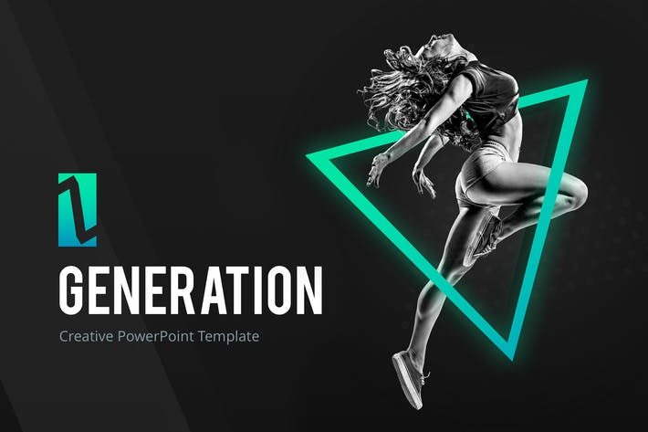 Thumbnail for Поколение Z - Творческий Шаблон PowerPoint