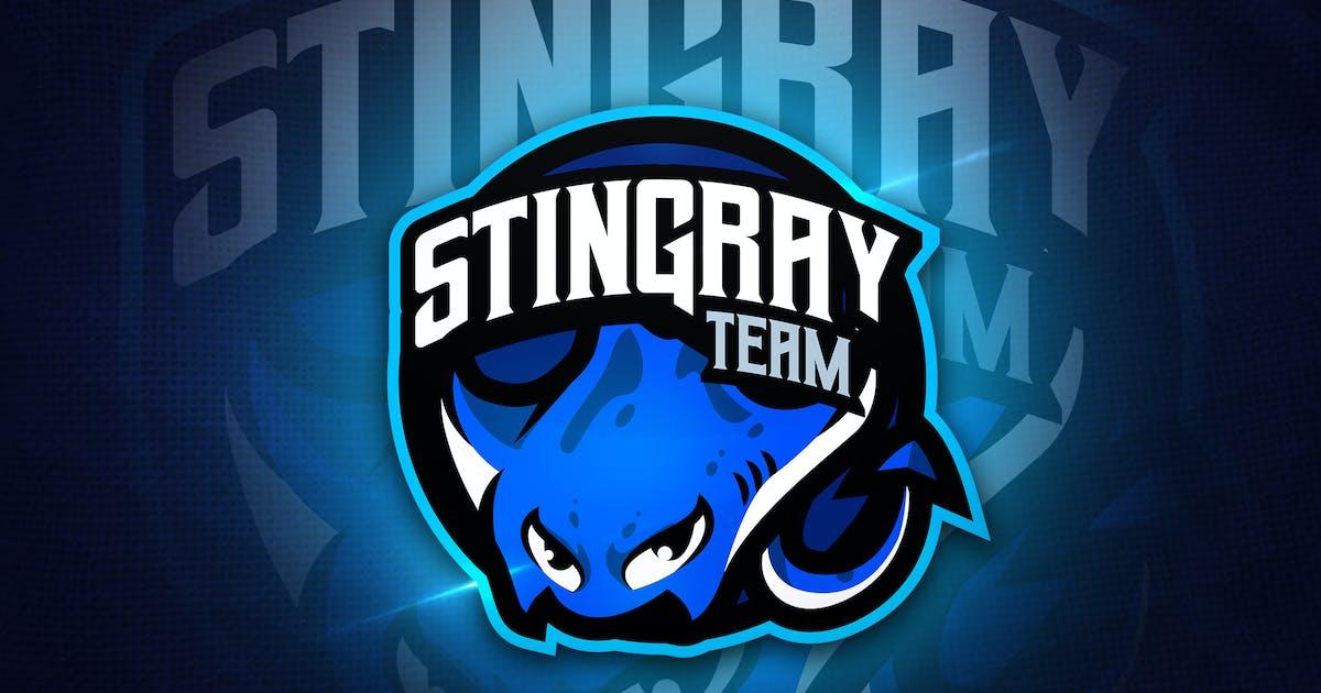 Download Stingray Team - Mascot & Esport Logo by aqrstudio