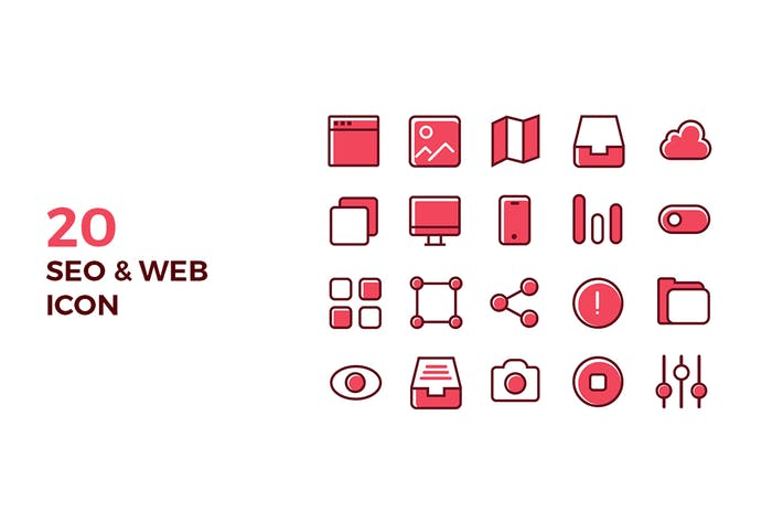 Thumbnail for SEO & Web Icons