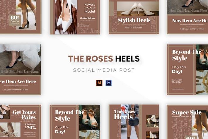 Thumbnail for Розы каблуки Socmed Post