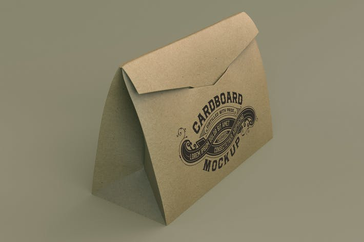 Thumbnail for Kraft Paper Shopping Bag Mockup