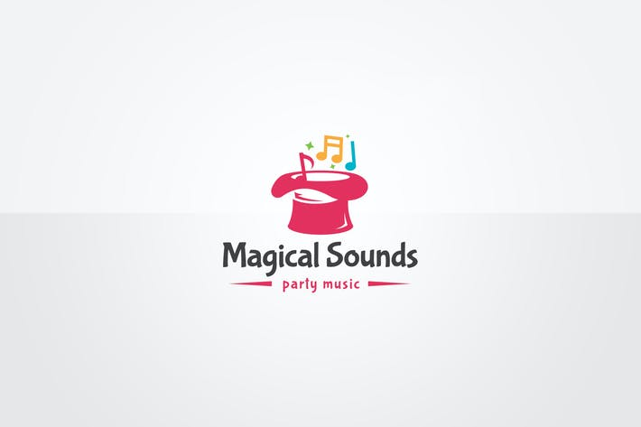 Thumbnail for Magical Sounds Logo Template