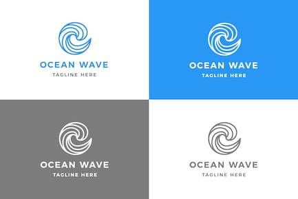 Ocean - Logovorlage