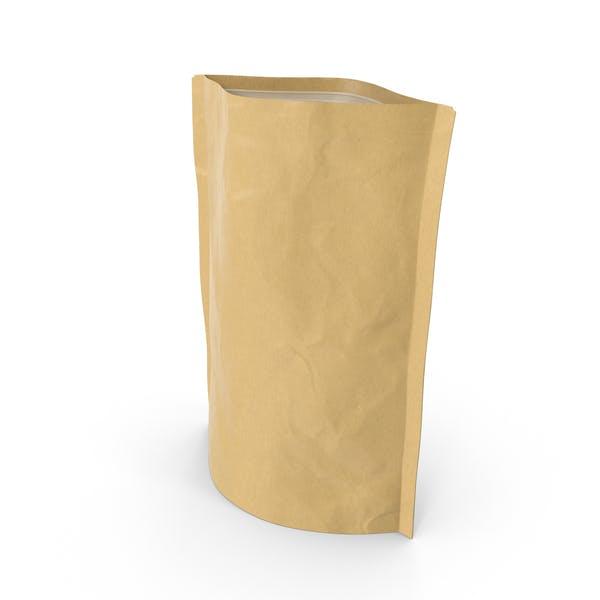 Thumbnail for Bolsa con cremallera de pie, 250 g, abierta