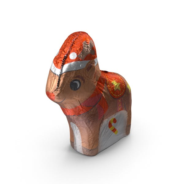 Thumbnail for Foil Wrapped Chocolate Reindeer