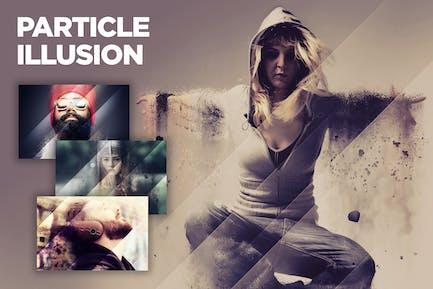 Particle Illusion CS3+ Photoshop Action