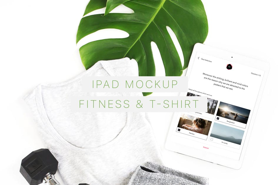 Download iPad Mockup. Fitness & T-Shirt by Anthonyrich