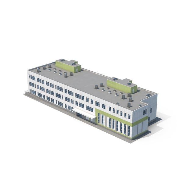 Gebäude des Krankenhauses