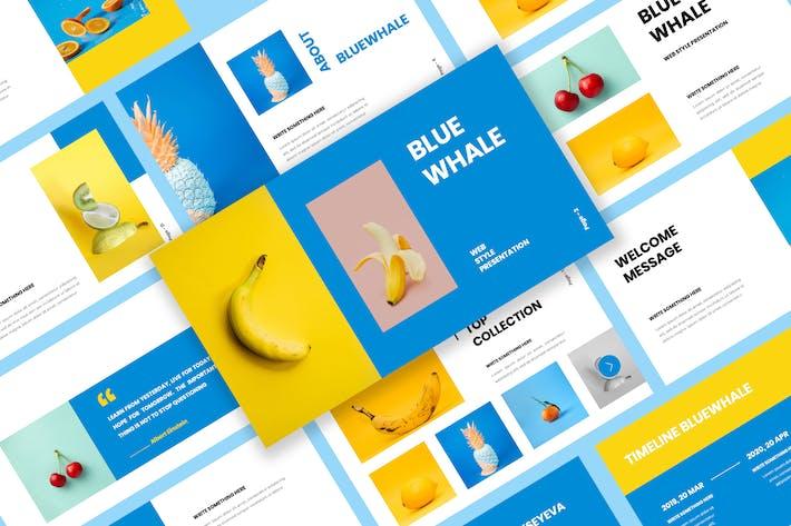Thumbnail for Bluewhale - Презентация слайдов Google