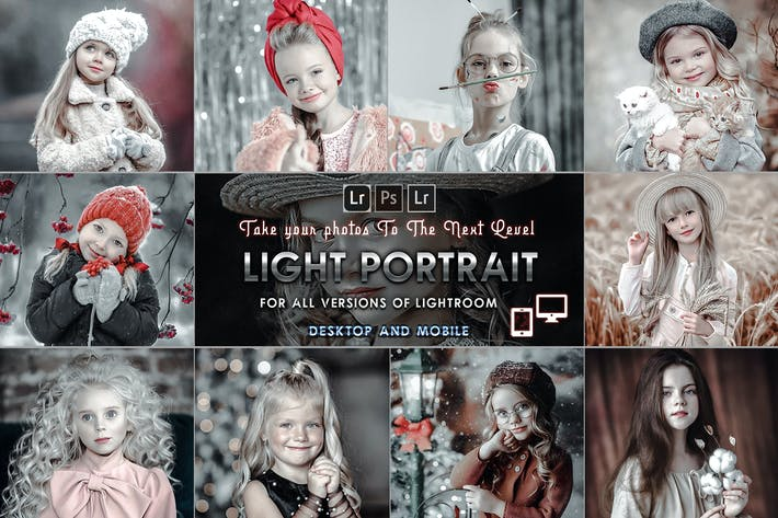 Thumbnail for Light Portrait Presets Mobile and Desktop