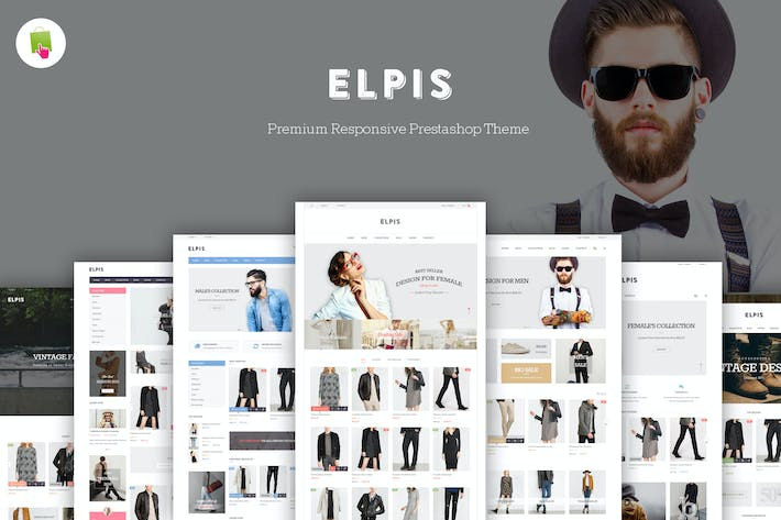 Thumbnail for Jms Elpis - Responsive Prestashop Theme