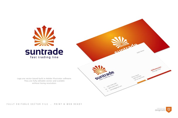 Thumbnail for Suntrade Logo Template