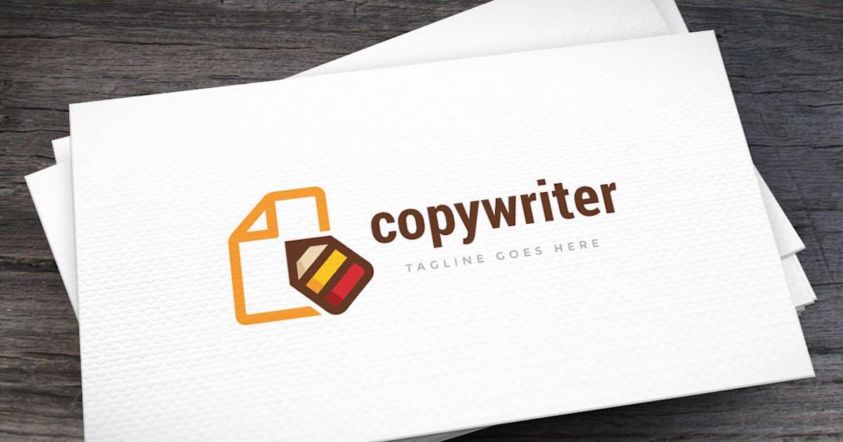 Copywriter Logo Template by empativo