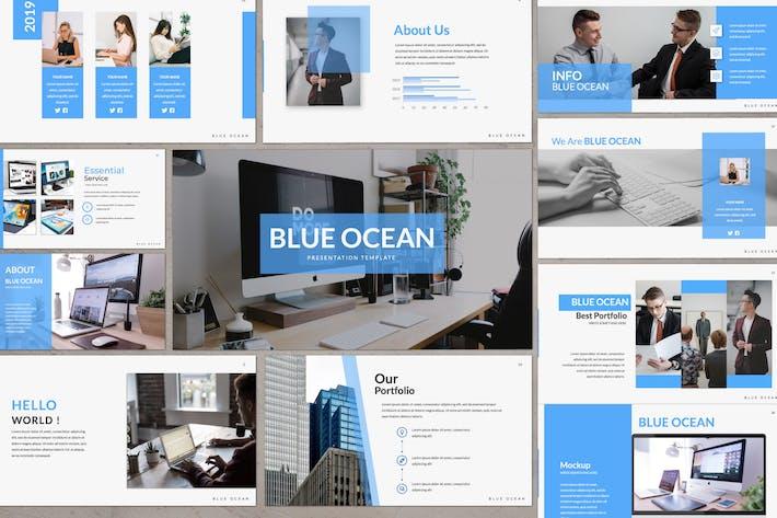 Thumbnail for Blue Ocean Powerpoint