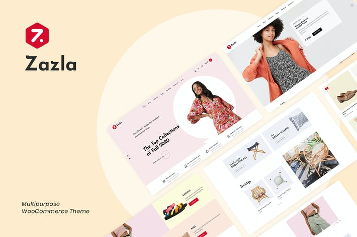 Thumbnail for Zazla - Modern & Minimal WooCommerce Thema