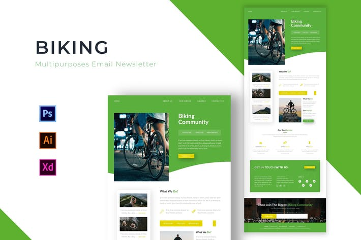 Thumbnail for Biking | Newsletter