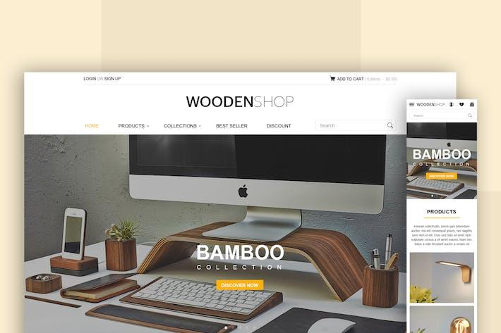 Thumbnail for Retail - Web UI Design Concept