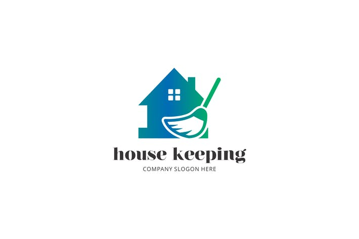 Thumbnail for House Cleaning Logo