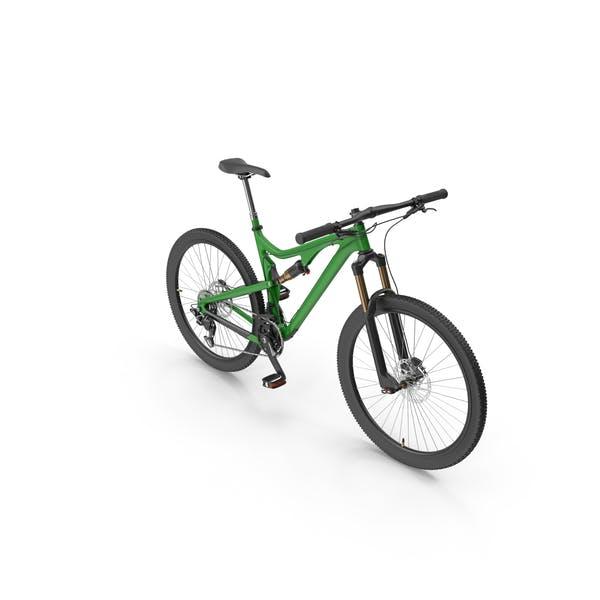 Grün Mountainbike