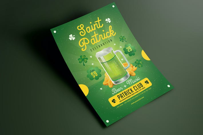 Thumbnail for Saint Patrick Beer Flyer