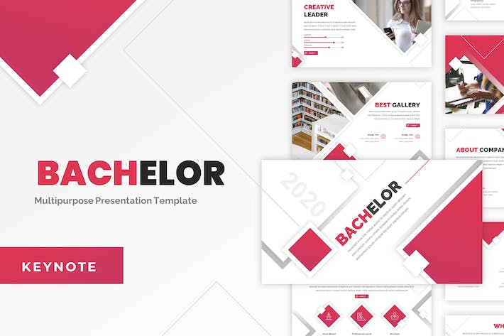 Thumbnail for Bachelor - Education Keynote Template