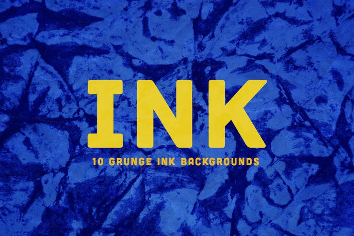 Cover Image For Grunge INK  Backgrounds