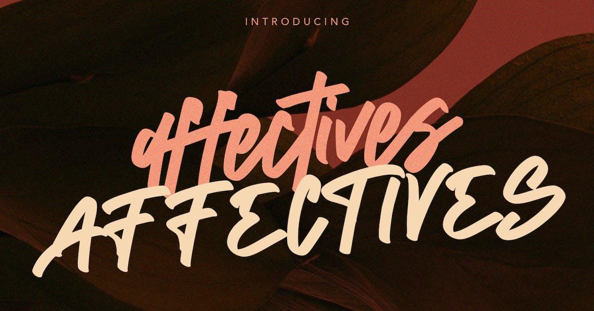 Download Affectives Handwritten Script Brush Font by maulanacreative