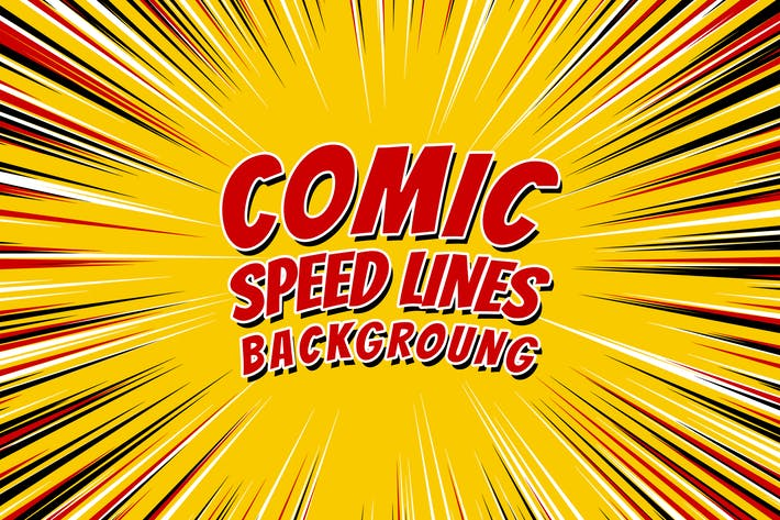 Thumbnail for Comic Radial Explosion Speed Lines
