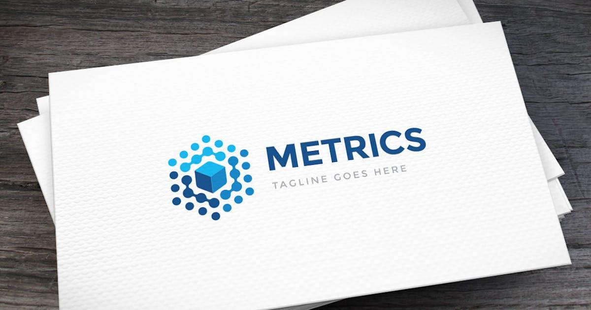 Download Data Metrics Logo Template by empativo