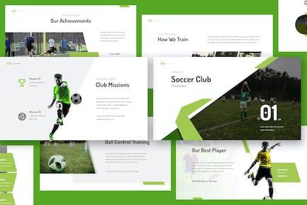 Soccer Club Keynote Presentation