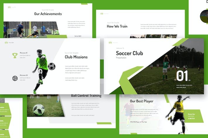 Thumbnail for Soccer Club Keynote Presentation