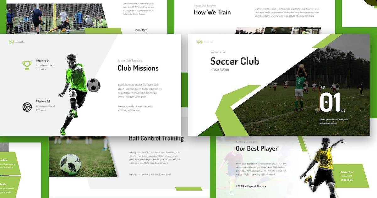 Download Soccer Club Keynote Presentation by giantdesign